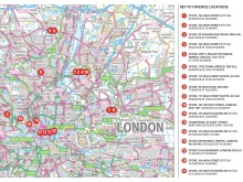 Map of offences