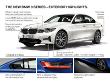 BMW 3-serie Sedan - highlights eksteriør