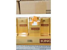 LON 11/14 Three arrested on suspicion of tobacco smuggling 6