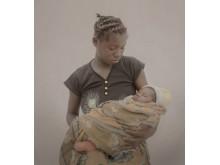 #childmothers: Mulenga, 14 år med Felicity, 5 veckor från Zambia