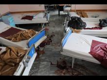 Attack Kabul Dasht-e-Barchi-sjukhuset (6)