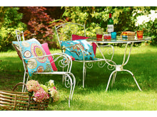 Rengjøring av hagemøbler