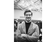 Mattias Stengl, hotelldirektør på testhotellet, Hobo Hotel. Foto: Nordic Choice Hotels