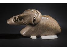 """Röster från Arktis """"Creature on the floe edge"""" , David Ruben Piqtoukun, Paulatuk/Toronto, NWT/Ontario"""
