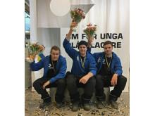 John Norberg, Daniel Ericsson, Joel Högman