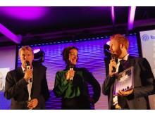 Bjørn Marte Øystein Prix Radio 2018 Foto ISAK HAGEN