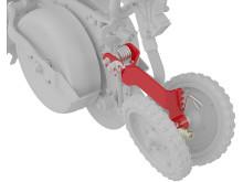 Tempo - Småfrökit - Justerbara stängningshjul