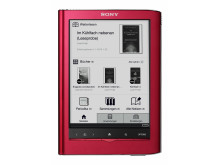 Reader Touch Edition PRS-650 von Sony rot