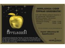 Annons Äppelboden