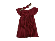 ODA CHIFFON DRESS