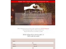 Webbsidan www.juluppropet.se