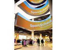 Multimediascreens im Flagshipstore München
