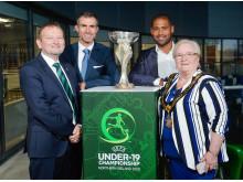 Launch of 2020 UEFA European Under-19 Championship