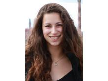 Céline Montanari, forskarstuderande vid avdelningen fiber- och polymerteknologi på KTH.
