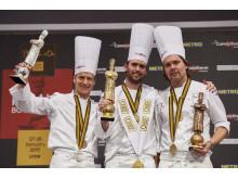 Gold für Norwegen, Silber für USA, Bronze für Schweden