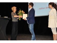 Prisutdelning Årets HR-bok 2016