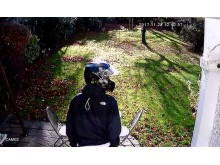 CCTV of suspect 1 re: moped burglary, Bromley