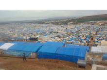 Ett läger för internflyktingar i Syrien. Våldet har lett till en ny flyktingvåg.