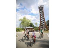 Aussichtsturm Saaleturm in Burgk