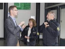 Martin Nilsson, seniorkonsult på 4C Strategies ger kloka råd om in- och utrymning av skolbyggnad