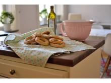 Kolouri - populär frukostkringla i Grekland