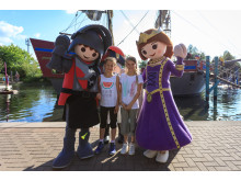 Meet & Greet mit PLAYMOBIL-Ritter und Prinzessin