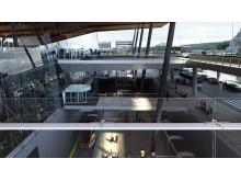Lettere tilkomst - Bergen lufthavn Flesland 2017