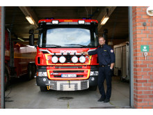 Räddningstjänsten Norsjö, befäl Patrick Enberg