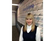 Hannah Woolford, distribution manager for Birmingham and the Midlands