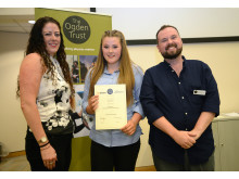 Schools Physicist of the Year Award winner Alannah Bain