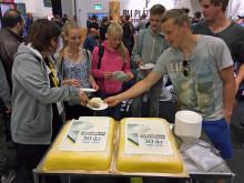 SM för unga plåtslagare 30 år firades med tårtkalas