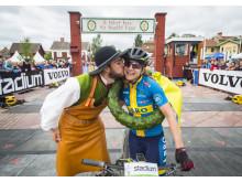 Jennie Stenerhag vann Cykelvasan 2017