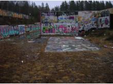 Graffitiväggar