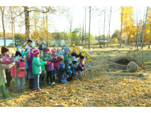 Förskoleklass från Dansäterskolan Borensberg