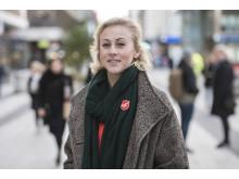 Emma Cotterill, nationell samordnare för Frälsningsarméns arbete mot människohandel i Sverige. Foto: Jonas Nimmersjö