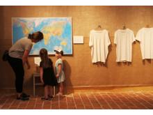 Testa dig själv i utställningen Koll på kläder