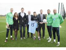 Betsafe & Manchester City Football Club