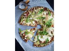 Knäckepizza - Kalkonen