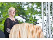 Margot Wallström invigningstalar för 1001 Inventions på Värmlands Museum