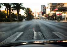 Traffic light information in Audi head up display