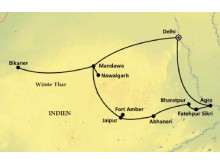 AMONDO Erlebnisreise Indien