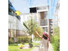 Visionsstudie: Nyhamnen i Malmö av Sweco Architects