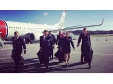 Tripulación de Norwegian