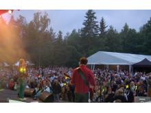 Skärgårdsfestivalen, alltid mycket folk