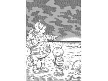 Bokens illustrationer är gjorda av Jonatan Iversen-Ejve