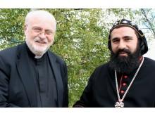 Biskop Anders Arborelius och ärkebiskop Dioscoros Benyamin Atas