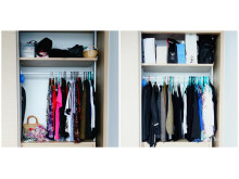 Say goodbye to tumbleweeds in the closet