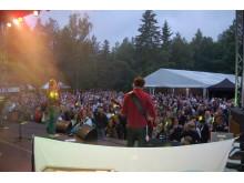 Stora scenen på skärgårdsfestivalen