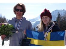 Oliwer Magnusson och Jennie Lee Burmansson