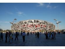 2008 Beijing Olympic Stadium ARUP Foto: Pressbild
